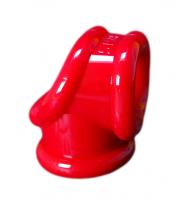 Erekčný krúžok a naťahovač semenníkov Oxballs Cocksling červený