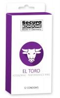 Kondómy Secura El Toro 12 ks