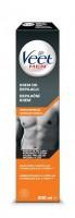 Depilačný krém Veet Men Silk & Fresh pre normálnu pokožku 200 ml