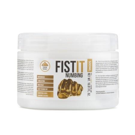 Znecitlivujúci lubrikant Fist-It Numbing 500 ml