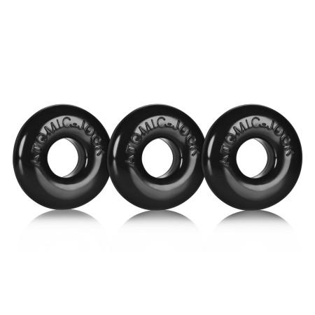 Erekčné krúžky Oxballs Ringer čierne