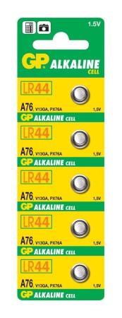 Batéria GP A76 LR44 1,5 V (1 ks)