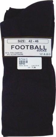 Futbalové ponožky Mister B čierne