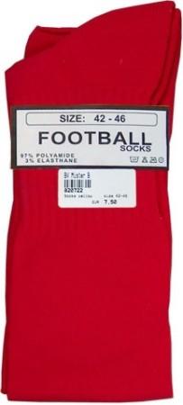 Futbalové ponožky Mister B červené