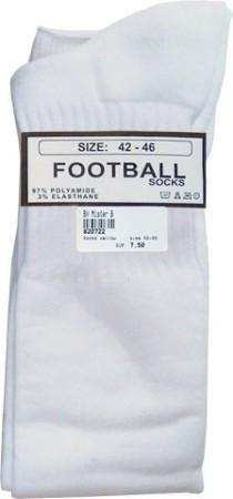 Futbalové ponožky Mister B biele