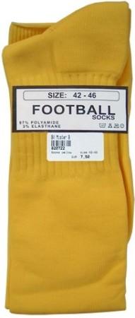 Futbalové ponožky Mister B žlté