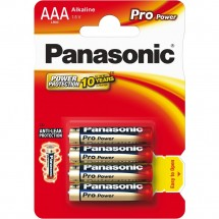 Batérie Panasonic AAA LR03 1,5 V Pro Power