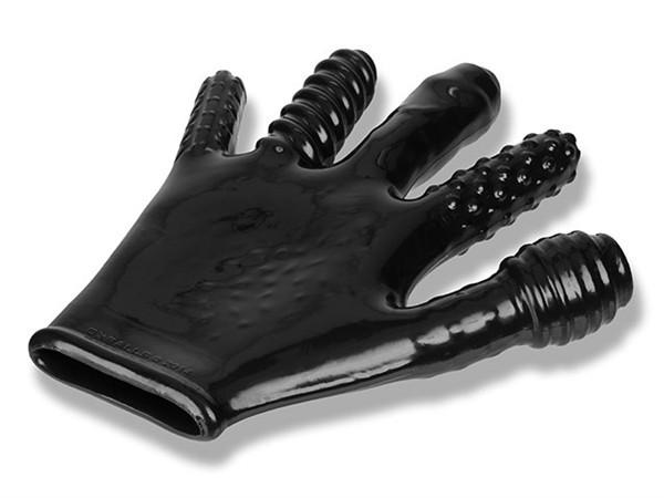 Textúrovaná rukavica Oxballs Finger Fuck