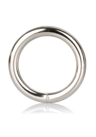 Kovový erekčný krúžok CalExotics Silver Ring