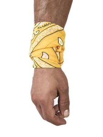 Hanky šatka žltá
