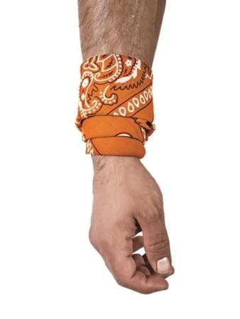 Hanky šatka oranžová